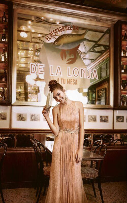 inmaculada garcia barcelona vestido de fiesta Laurena