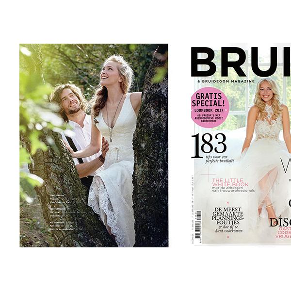 el vestido scarlett en la revista bruid, holanda | inmaculada garcía