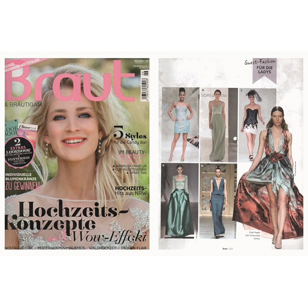 Golden Sunshine collection fashion show featured in Braut ...