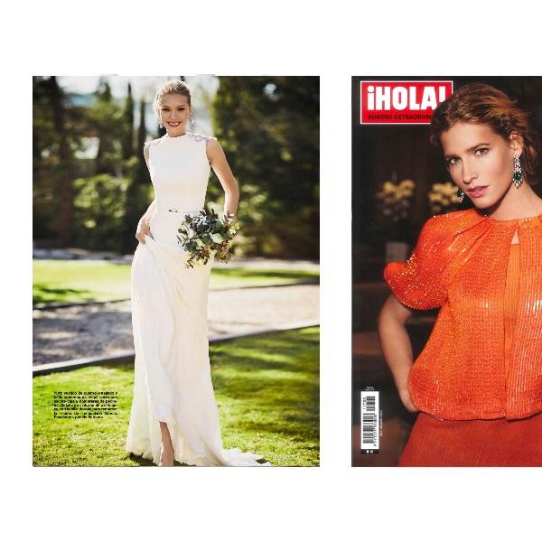 inmaculada garcia vestidos de novia Hola alta costura