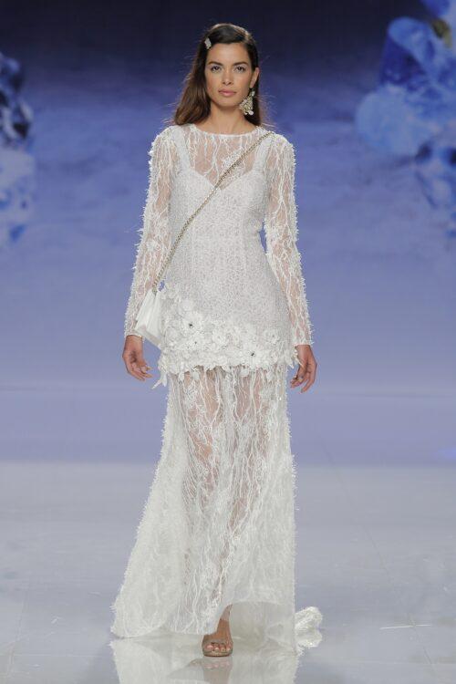Inmaculada garcia barcelona vesstidos de novia – AZURITA vestido + BUDA vestido