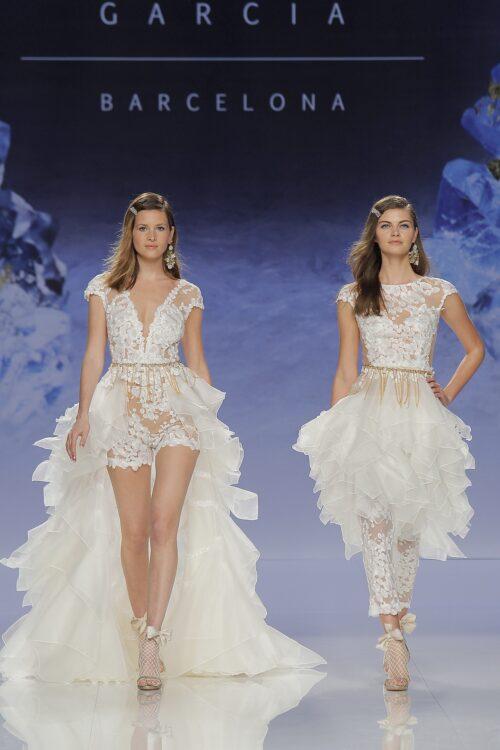 Inmaculada garcia barcelona vesstidos de novia – Elbaita vestido + Diamante vestido
