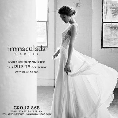 inmaculada garcia presentacion colección purity en nueva york