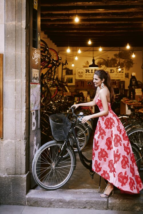 inmaculada garcia barcelona vestido de fiesta Kate