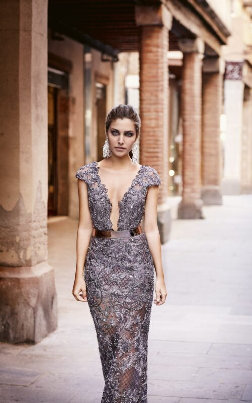 inmaculada garcia barcelona vestido de fiesta Marta