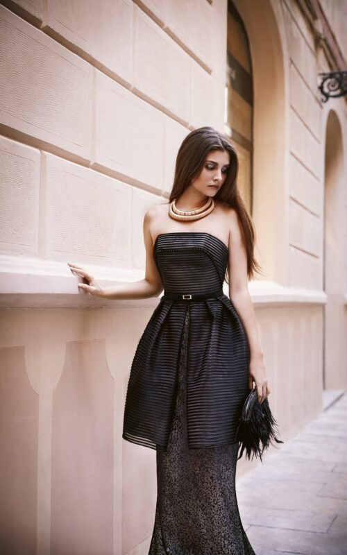 inmaculada garcia barcelona vestido de fiesta Megan