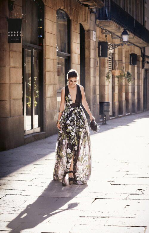 inmaculada garcia barcelona vestido de fiesta Silvia