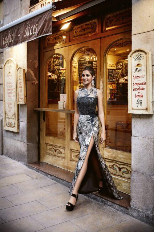 inmaculada garcia barcelona vestido de fiesta Yessica