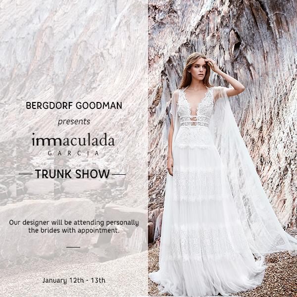trunk show inmaculada garcia bergdorf