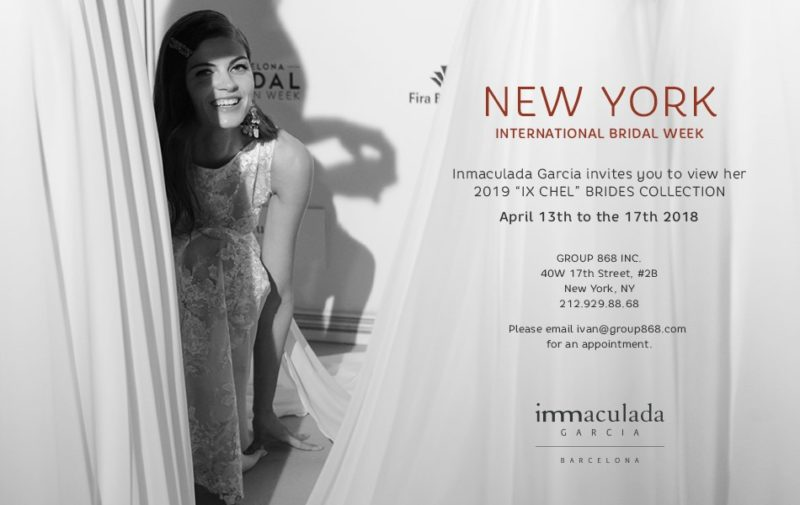 Inmaculada Garcia showing new collection 2019 at New York